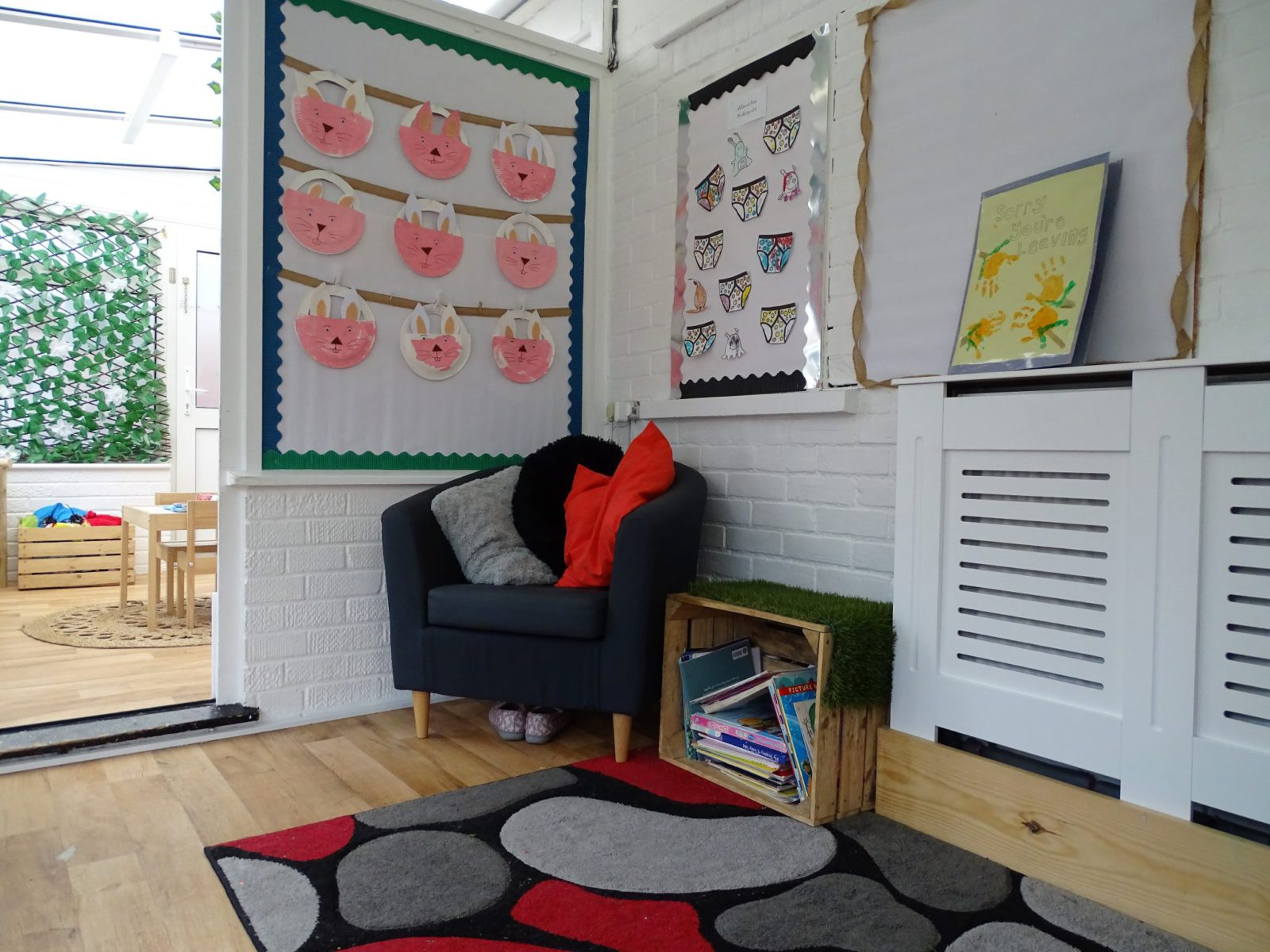 Pre-School Reading Corner