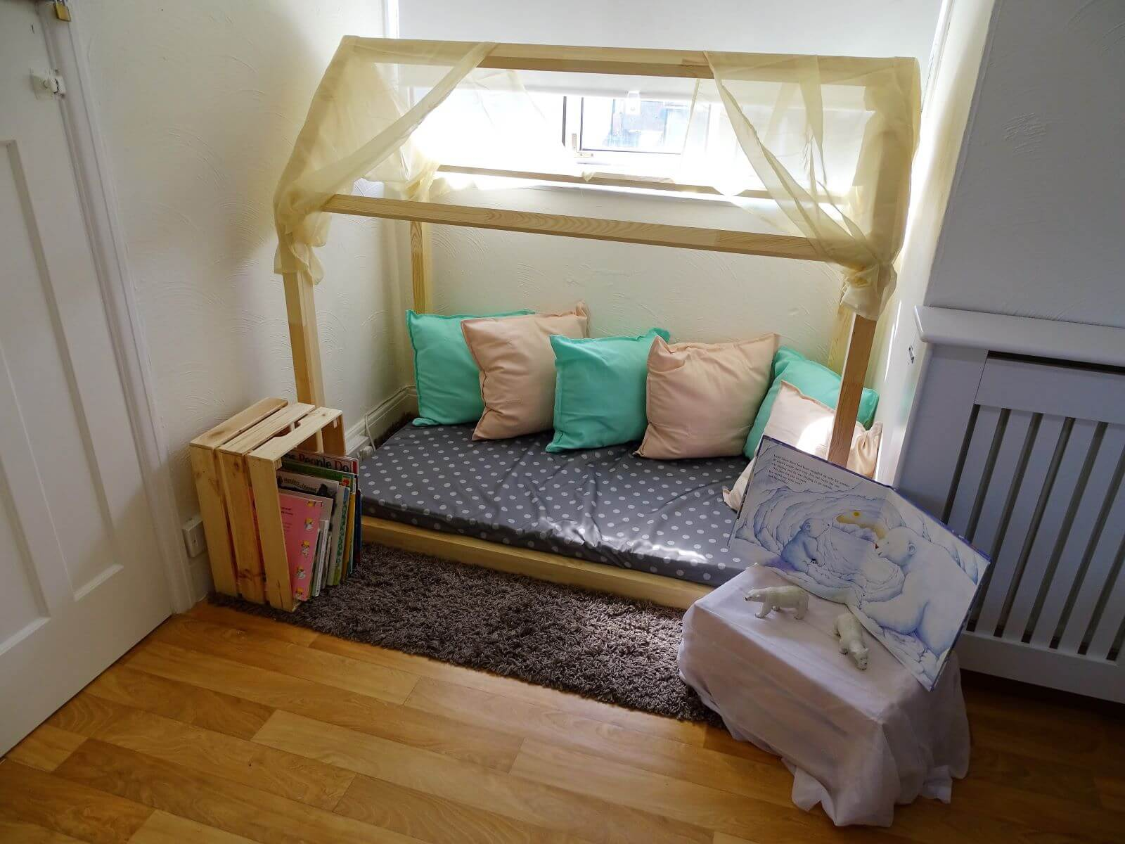 Pee Wees Cosy Reading Corner