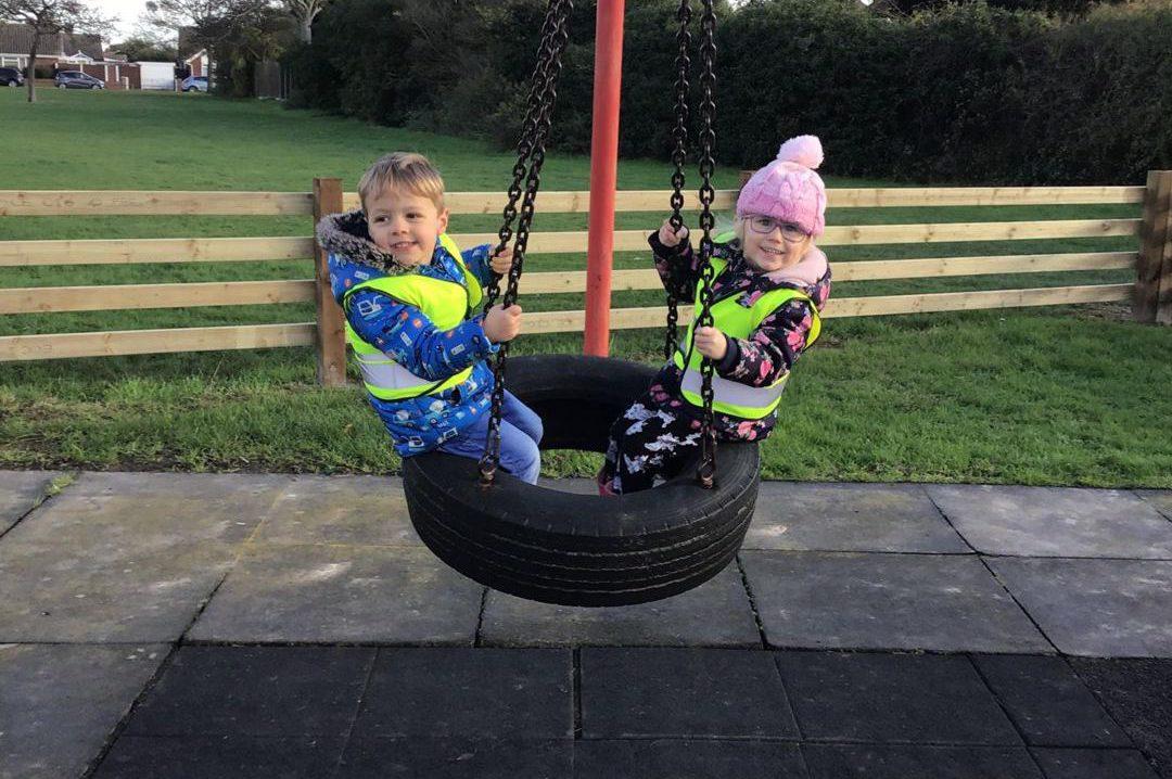 Park Tyre Swing
