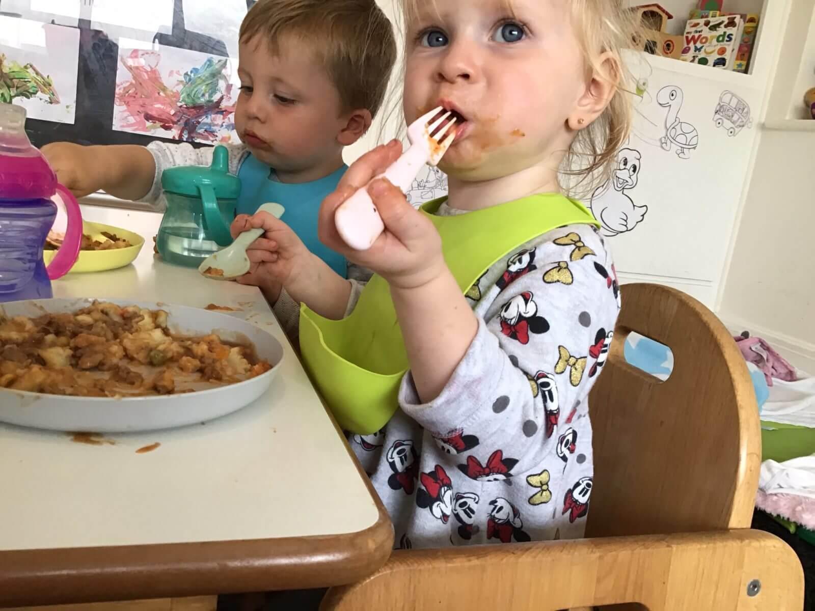 Teeny Weenies Lunch Time