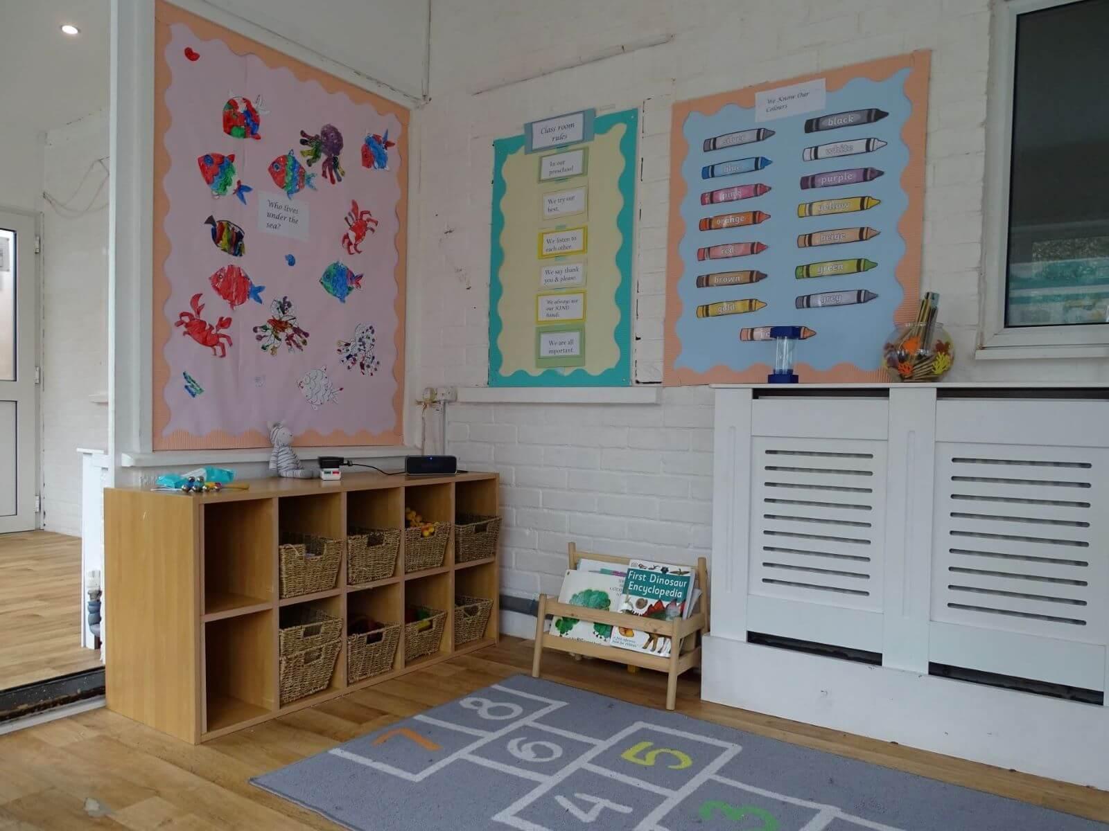 Pre School Activity Area
